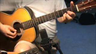 going to the chapel-chords -fingerstyle - vocal harmony