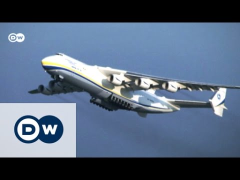 Antonov An-225: ride a colossus | DW English