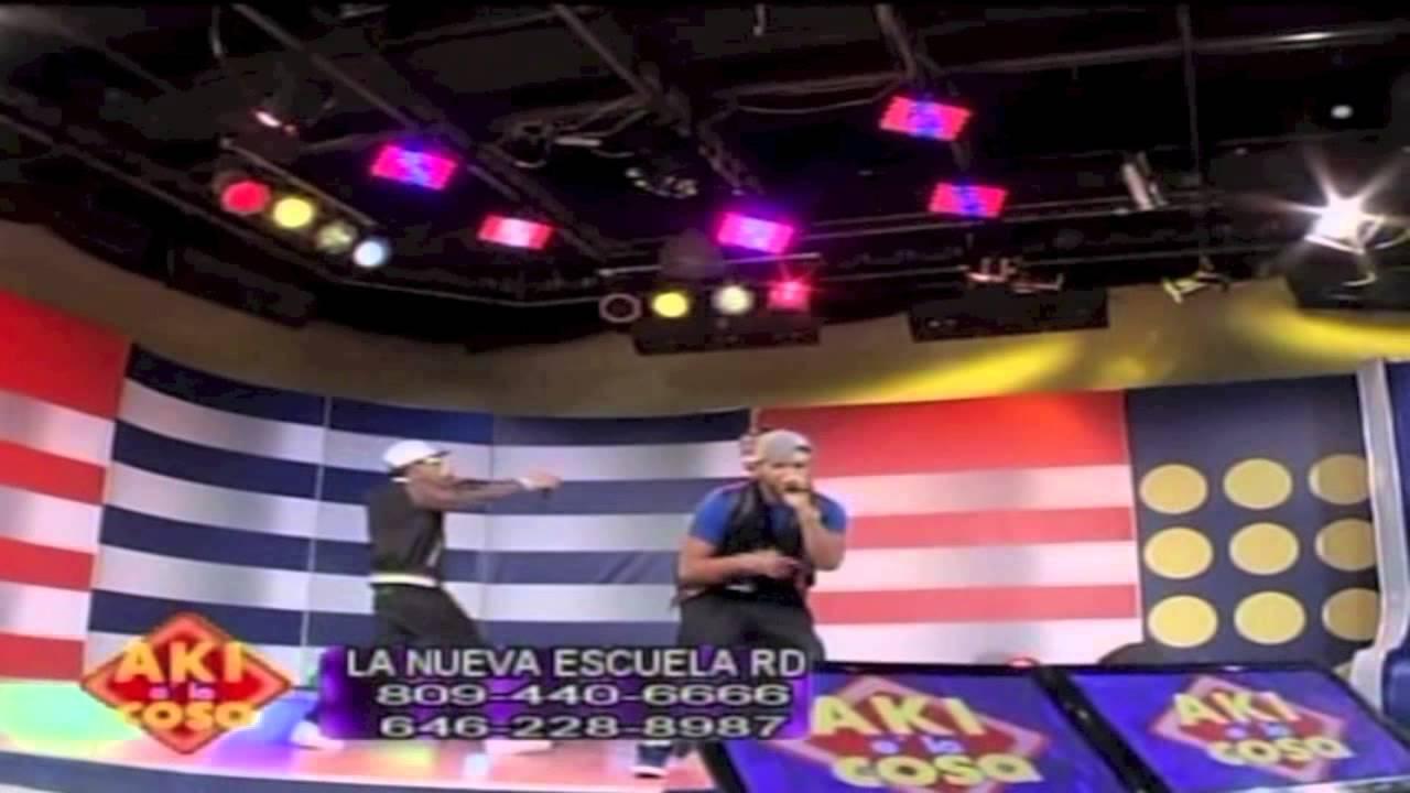 "La Nueva Escuela ""Mini Concierto"" En Aki E La Cosa 2014"
