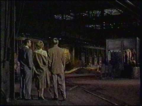 """Kaiser Steel Mill scenes from the 1952 movie, """"Steel Town""""  Ann Sheridan, John Lund and Howard Duff"""