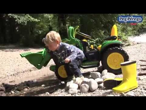 John Deere Ground Loader - Peg Perego