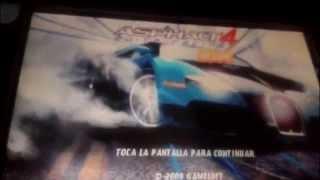 Nokia 5230 Asphalt 4 Gameloft
