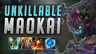 SUPER TANK MAOKAI 400+ ARMOR UNKILLABLE CARRY - Road to Challenger #34