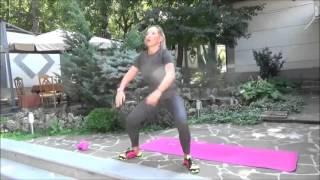 Тренировка по протоколу Табата - «Сушка тела» с Еленой Санжаровской