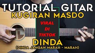 (TUTORIAL GITAR) DINDA - MASDO   VIRAL DI TIKTOK