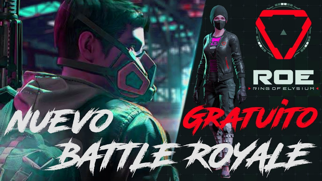 ROE - UN NUEVO BATTLE ROYALE!!! GRATUITO!! Ring of Elysium!!