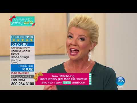 HSN | Sevilla Silver Jewelry Gifts Under $50 12.14.2017 - 05 PM