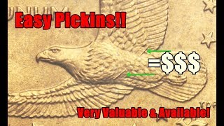 POCKET CHANGE TREASURE #7 - Wounded Eagle Sacagawea Dollar Worth Up to $2000!  Easy Find!
