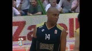 Lo mejor de Lázaro Borrell, ex jugador de Obras Basket