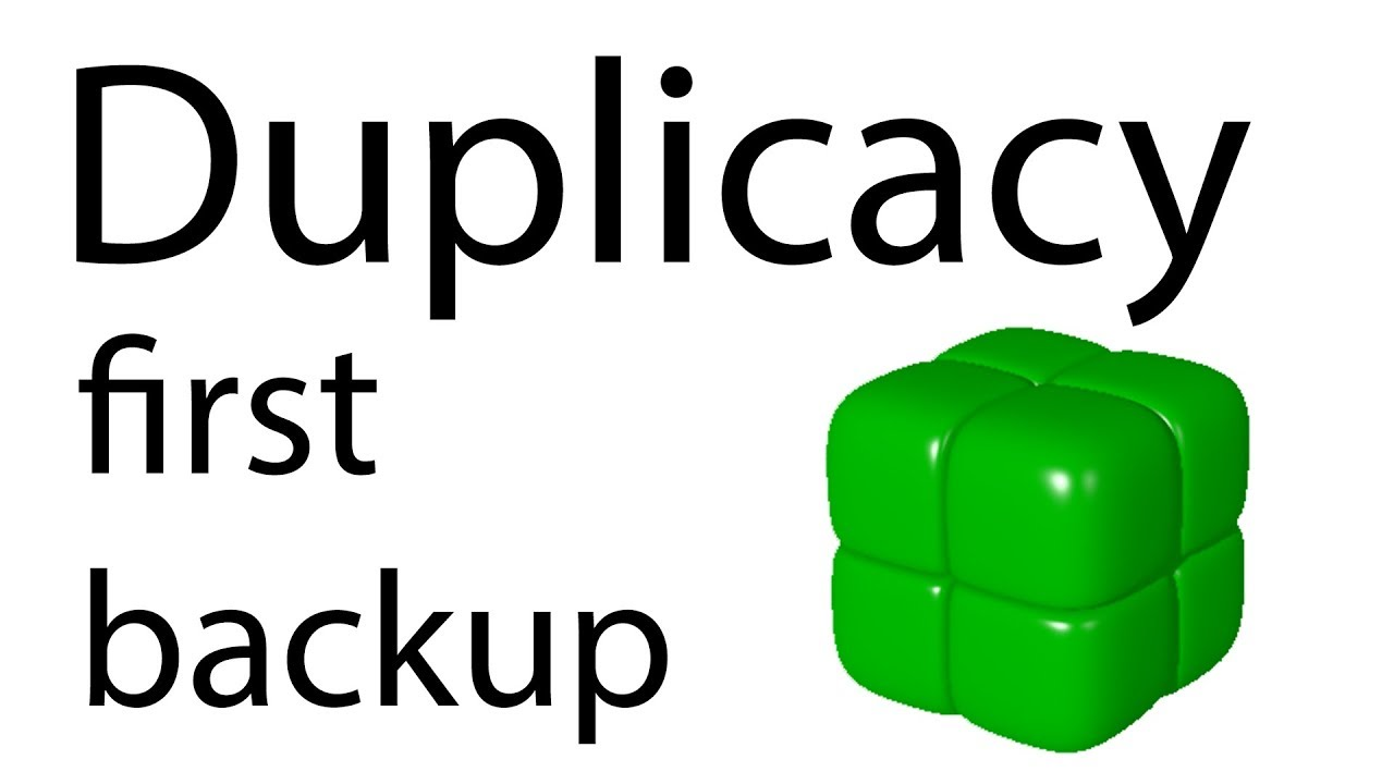 [Tutorial] Duplicacy - configure backup with CLI version