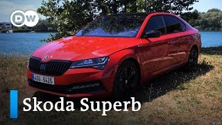 Exquisit: Skoda Superb   Motor mobil