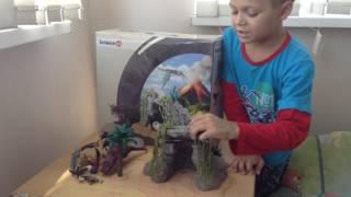 печера динозаврів Schleich 42261