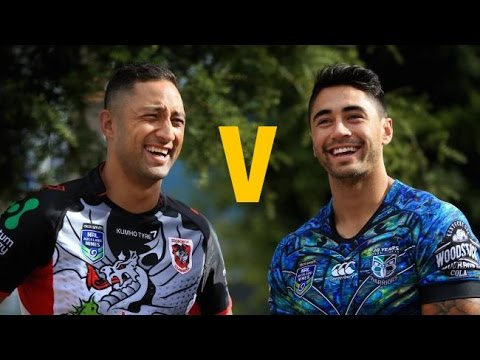 Shaun Johnson v Benji Marshall - Skills Redefined