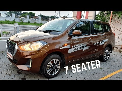 Datsun GO PLUS 7 Seater MPV Real Life Review - Price, Interiors, Features, Variants   Datsun GoPlus