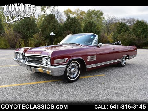 Rare 1964 Buick Wildcat Convertible At Coyote Classics