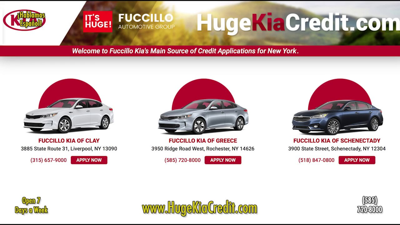 Good Get Pre Approved Now   Fuccillo Kia Rochester NY 14626