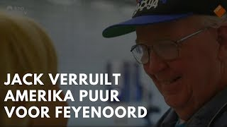 ᴴᴰ Jack veruilt Amerika puur en alleen voor zijn liefde, Feyenoord.