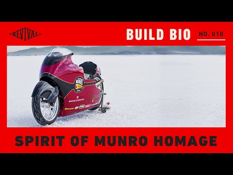 Spirit Of Munro Indian Scout Homage // Revival Build Bio No 010