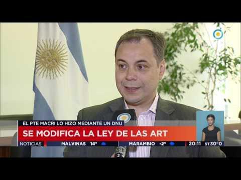 TV Pública Noticias - Se modifica la ley de las ART
