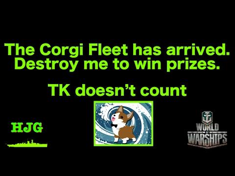 World of Warships - Corgi Fleet Event - Welcome to the Corgi-Dome!