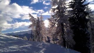 Австрия, горнолыжный курорт Вагрейн. С мобильного HTC DHD(Снимал мобильным телефоном HTC Desire HD. Качество получилось вполне приличное, но изображение постоянно дергае..., 2011-03-27T23:35:49.000Z)