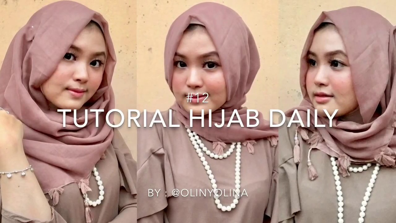 Daily Tutorial Hijab Tutorial Hijab Sehari Hari Ke Kantor Kuliah