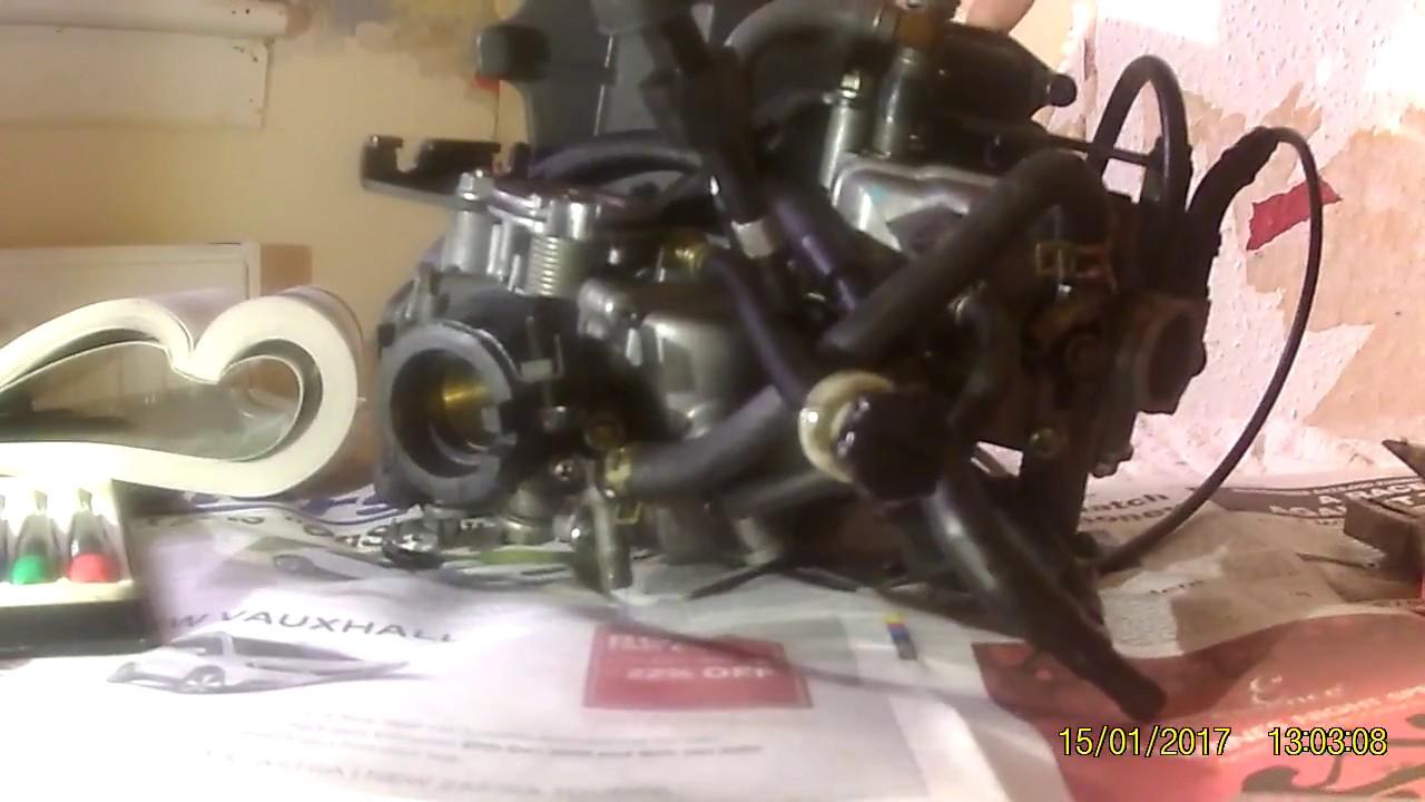 VT125 Honda Shadow 125 carburetor disassembly pt1