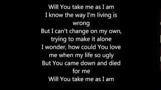 Take Me As I Am - Lecrae (w/lyrics)