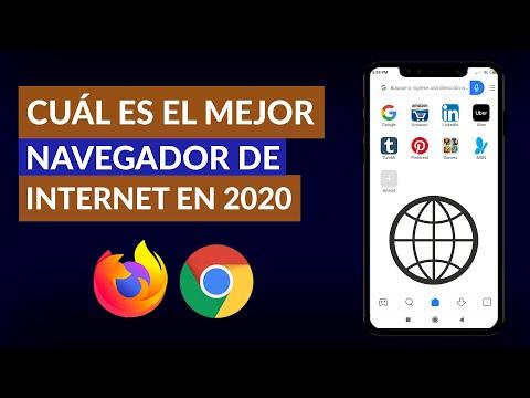 Cual es el Mejor Navegador de INTERNET en 2020