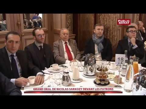 Nicolas Sarkozy - Face aux patrons