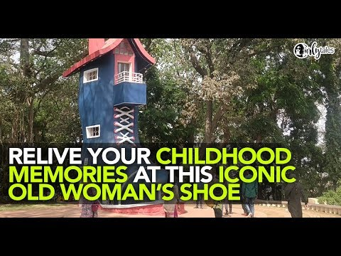The Iconic Shoe At Mumbai's Hanging Garden Is A Sight To Behold   Curly Tales