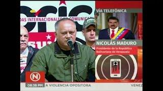 Maduro y Diosdado reaccionan a la renuncia de Evo Morales