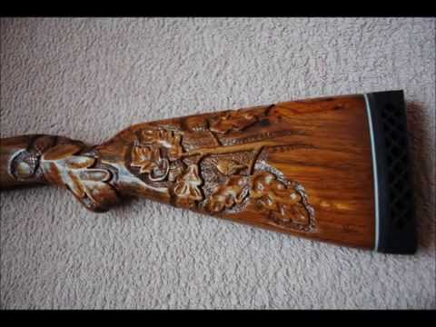 Wood Carving/Engraving a 50 year-old Yugoslavian M48 Rifle Stock
