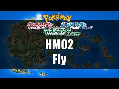Pokemon Ruby/Sapphire/Emerald - Where To Find HM02 Fly