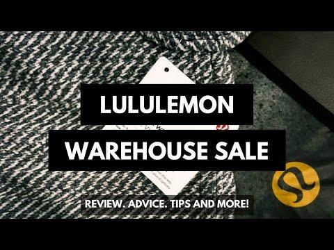 Tips, Review, Haul | Lululemon Warehouse Sale