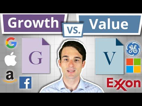 Investieren in GROWTH - oder VALUE Aktien? | Wachstumsaktien und Substanzwertaktien einfach erklärt!