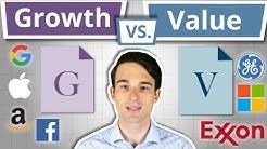 Investieren in GROWTH - oder VALUE Aktien?   Wachstumsaktien und Substanzwertaktien einfach erklärt!