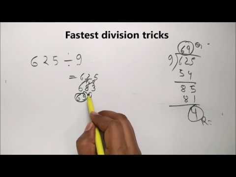 Fast Maths Tricks Quick Division Tricks in hindi For CAT IBPS PO SSC CGL
