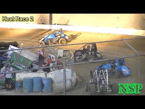 August 20, 2016 Nw Focus Midget Series Heat Races 1, 2 & 3 Deming Speedway