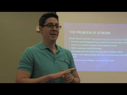 Atheism: Christopher Apodaca 8/29/16