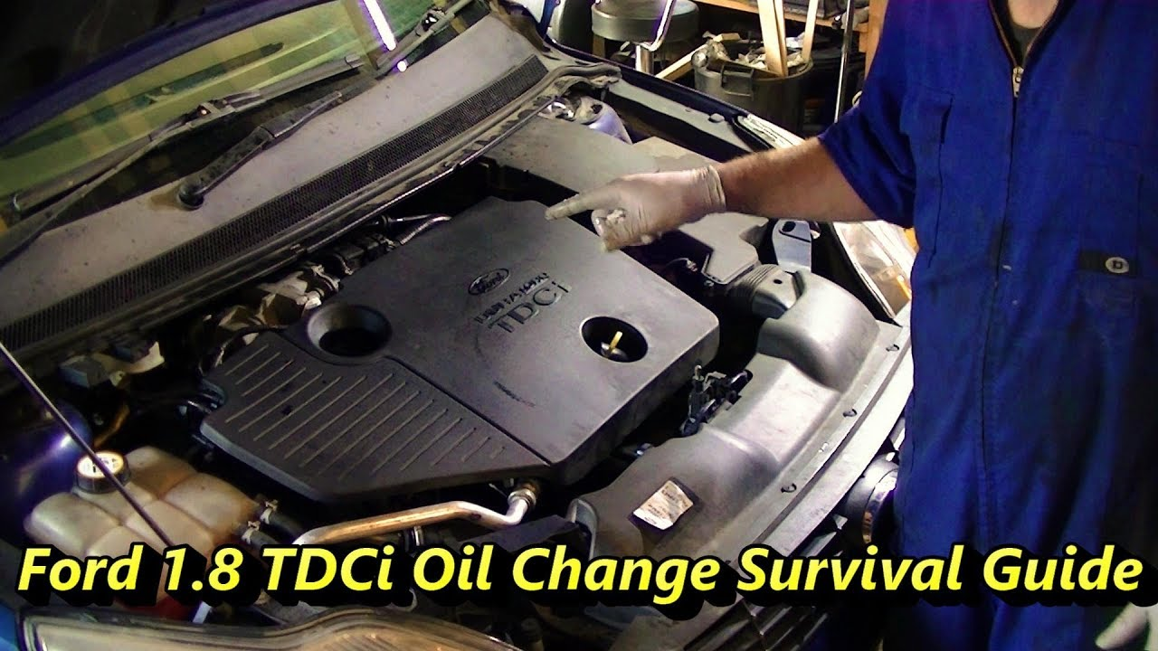 Ford 1 8 Tdci Oil Change Essentials Youtube