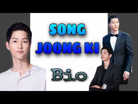 SONG JOONG KI'S BIO   DESCENDANTS OF THE SUN   FAN FACTS   MOVIES   DRAMA SERIES   ITS ALL ABOUTSSS from YouTube · Duration:  6 minutes 27 seconds
