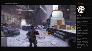 The Division, Part Twenty Eight, PS4 Live Broadcast, No Commentary, Walkthrough