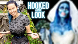 I Turned Into The Corpse Bride To Shock My Family | HOOKED ON THE LOOK