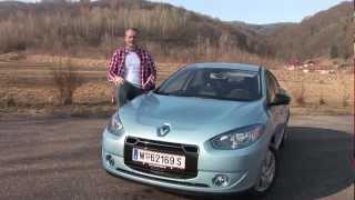 Renault Fluence Z.E. - Weekend Magazin Autotest