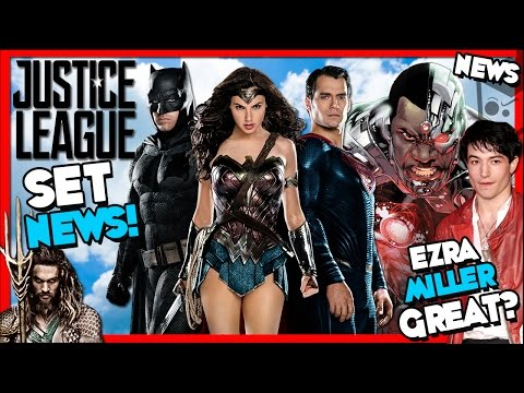 Justice League Movie Set NEWS!