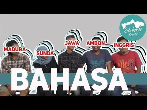 PERBEDAAN BAHASA, Madura, Sunda, Jawa, Dan Inggris