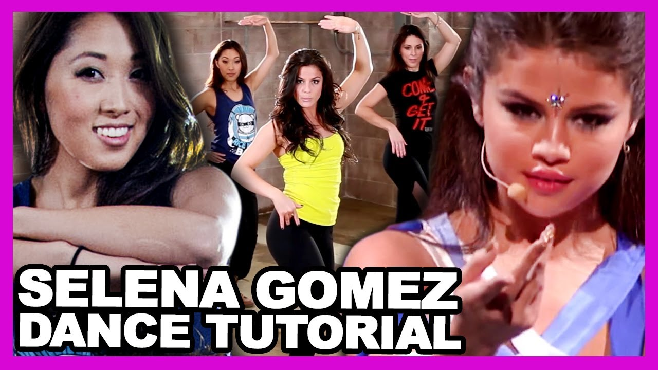 """Selena Gomez """"Come and Get It"""" Performance Dance Tutorial ..."""