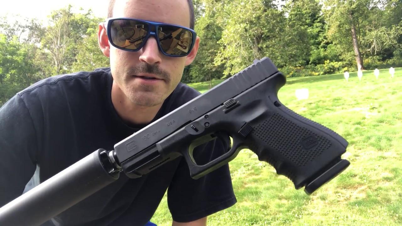 Gen 4 Glock G19 Test Suppressor  G19C G4