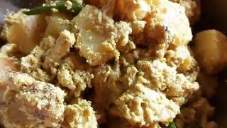 Narkel Phulkofi Posto Veg Recipe Khas Khas se Aloo Gobi ki Sabji  Veg Recipe Cauliflower Recipe
